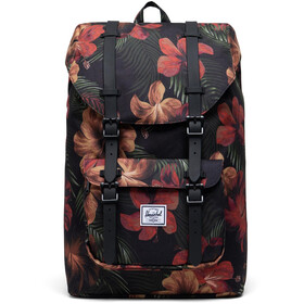 Herschel Little America Mid-Volume Backpack 17L tropical hibiscus